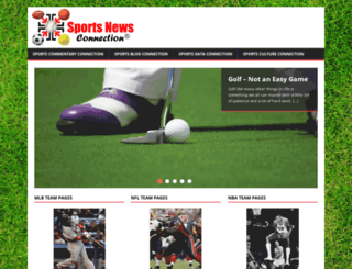 sportsnewsconnection.com screenshot