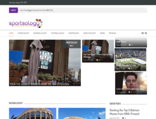 sportsology.info screenshot