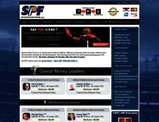 sportspicksforum.com screenshot