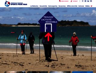 sportspourtous.org screenshot