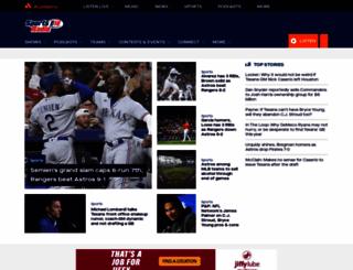 sportsradio610.com screenshot
