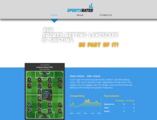 sportsrated.com screenshot