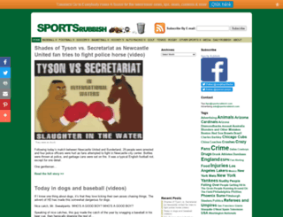 sportsrubbish.com screenshot
