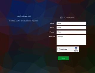sportsscience.com screenshot