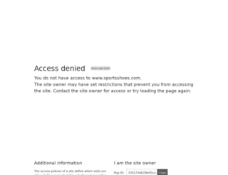 sportsshoes.com screenshot