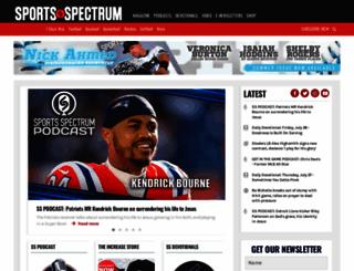 sportsspectrum.com screenshot