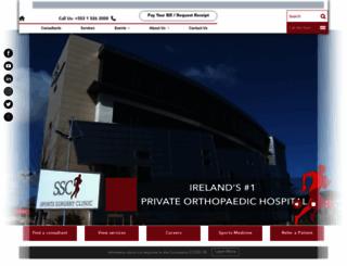 sportssurgeryclinic.com screenshot