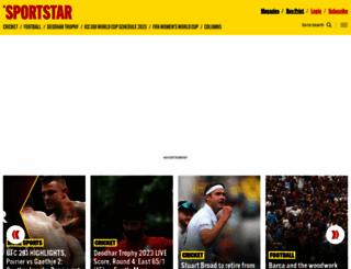 sportstaronnet.com screenshot