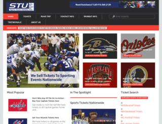 sportsticketsunlimited.com screenshot