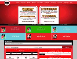 sportstoto.com screenshot