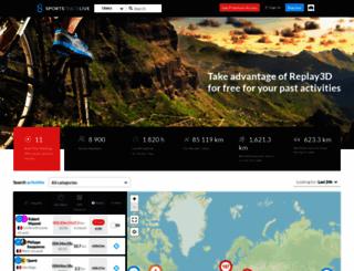 sportstracklive.com screenshot