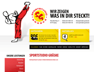 sportstudio-graeske.de screenshot