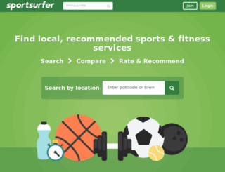 sportsurfer.com screenshot
