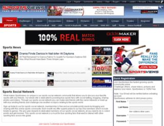 sportsviews.com screenshot