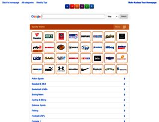 sportswear.kadaza.com screenshot