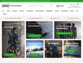 sportswearonline.nl screenshot