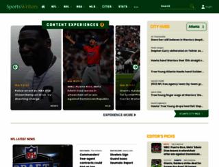 sportswriters.com screenshot