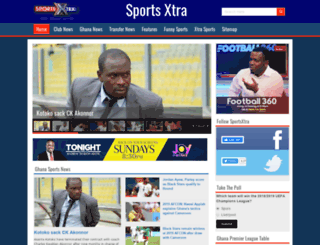 sportsxtra.com.gh screenshot