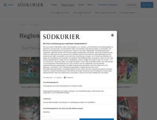 sporttabellen.suedkurier.de screenshot