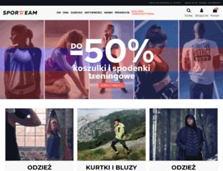 sportteam.com.pl screenshot