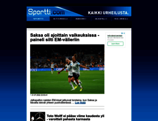 sportti.com screenshot