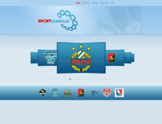 sporttickets.at screenshot