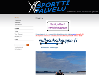sporttipalvelu.fi screenshot