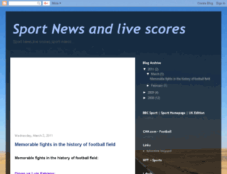 sporttnews.blogspot.com screenshot