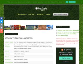 sporttrader.net screenshot