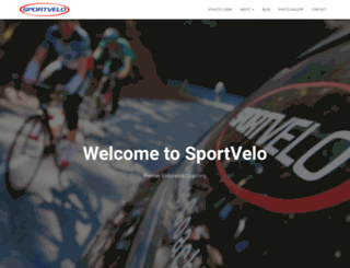 sportvelo.com screenshot