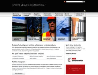 sportvenueconstruction.com screenshot