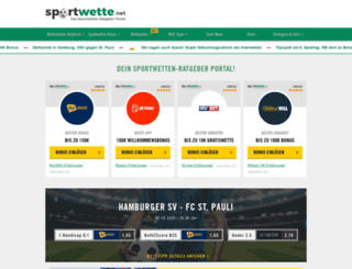 sportwette.net screenshot