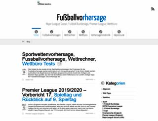 sportwetten-blogger.de screenshot