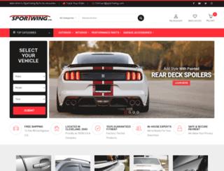 sportwing.com screenshot