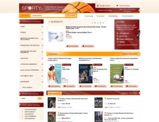 sporty.pl screenshot