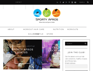 sportyafros.com screenshot