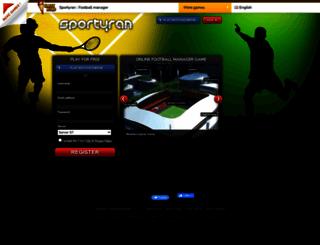 sportyran.net screenshot