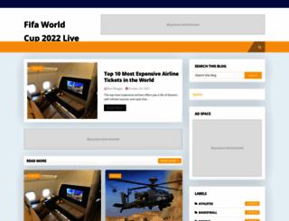sportystream.blogspot.com screenshot
