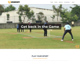 sportzify.com screenshot
