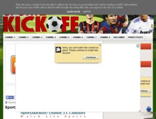 sportzkickoff.blogspot.co.uk screenshot