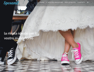 sposamimagazine.it screenshot