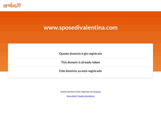 sposedivalentina.com screenshot