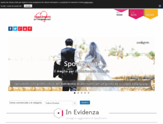 sposieventi.com screenshot