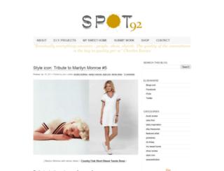 spot-ninety-two.blogspot.com screenshot