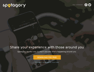 spotagory.com screenshot