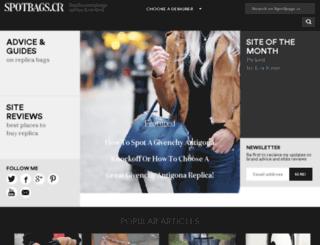 spotbags.cr screenshot