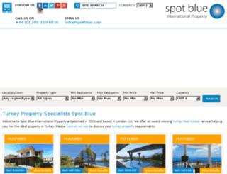 spotblue.ae screenshot