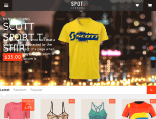 spotcommerce.blogspot.com screenshot
