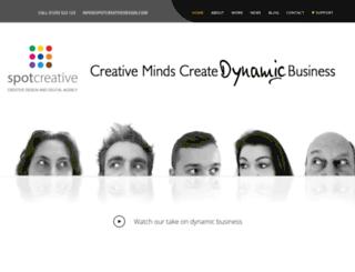 spotcreativedesign.com screenshot