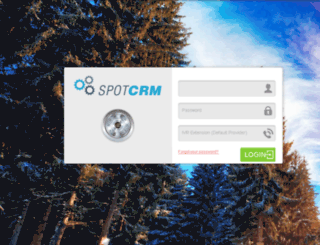 spotcrm.zoneoptions.com screenshot